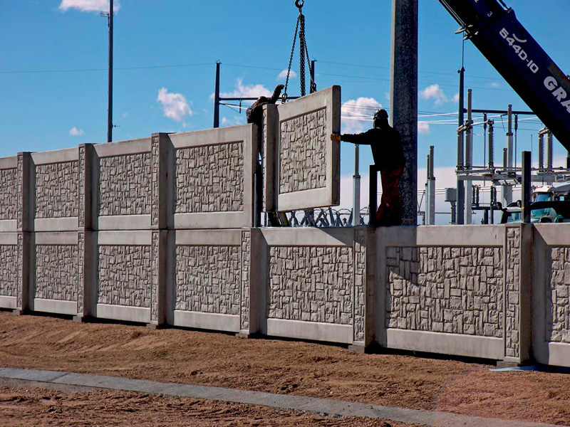 Utility And Substation Walls